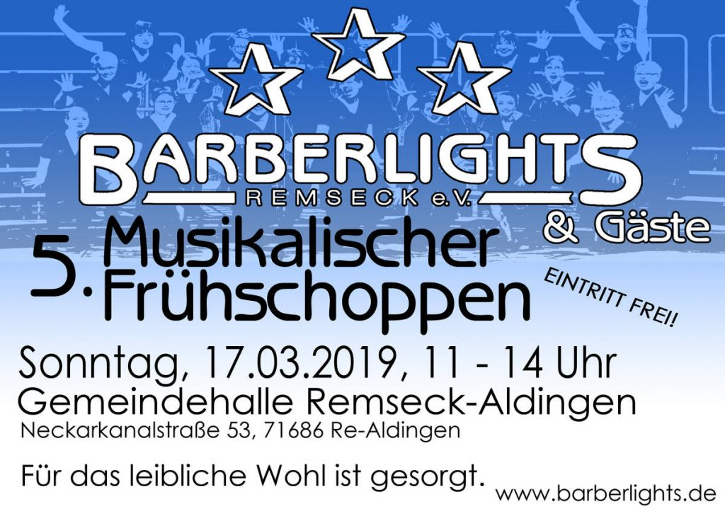 Plakat Barberlights
